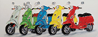Colourful Scooters