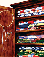 A Quilter's Cupboard